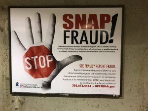 snap fraud posters