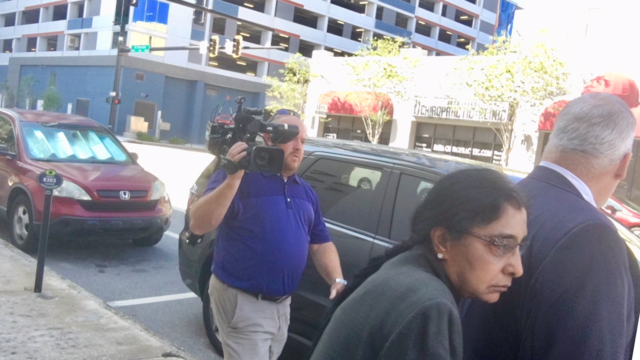 Dr. Iyer leaves court