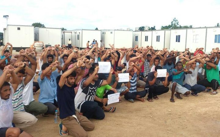 Manus refugees