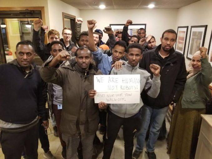 Somali walkout in MN