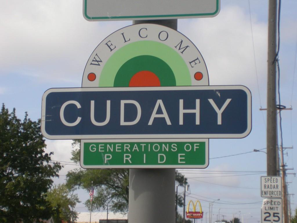 Cudahy sign