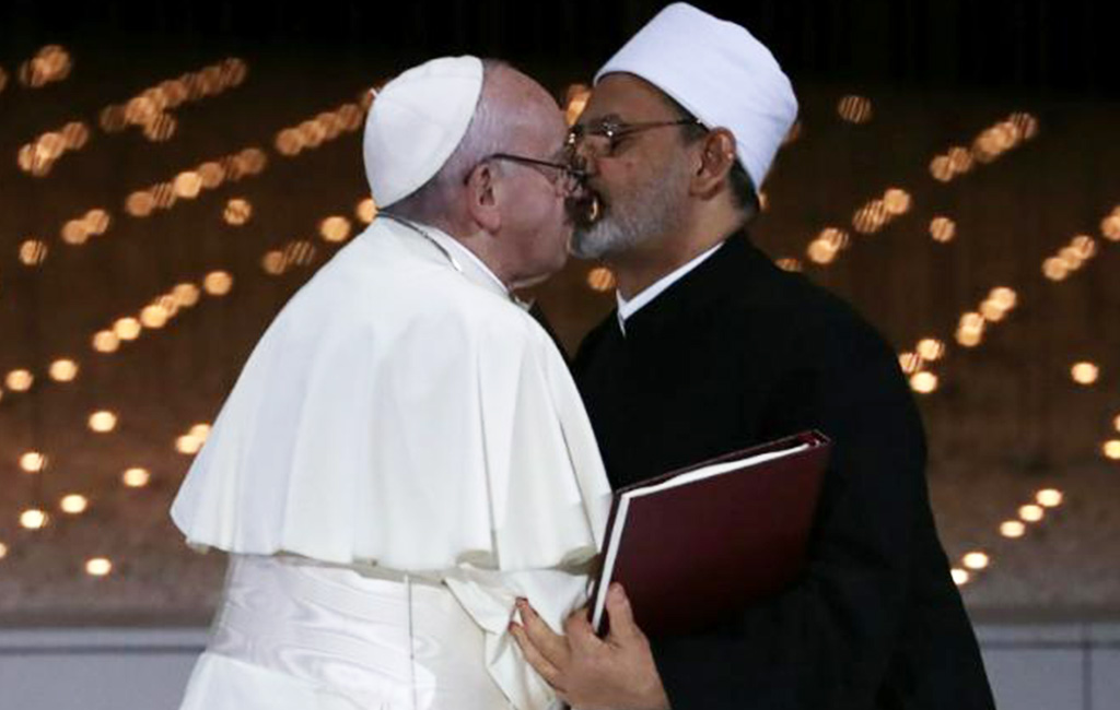 pope and grand Imam of Egypt