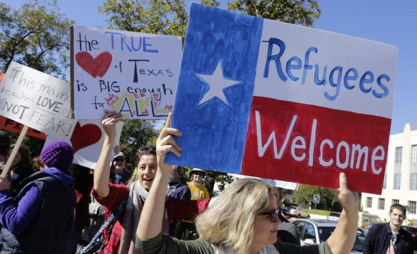 Texas welcomes refugees