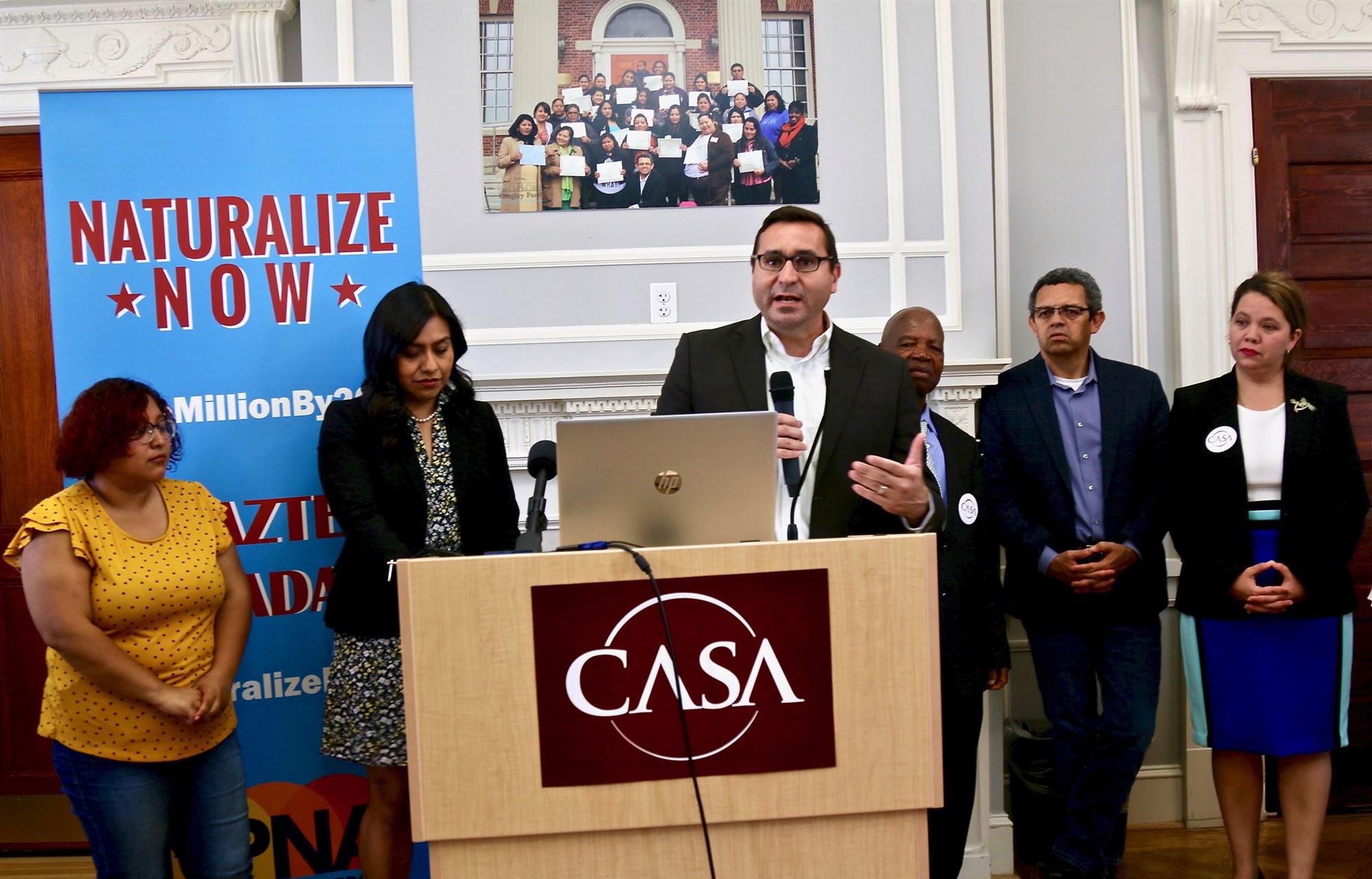 CASA vote campaign