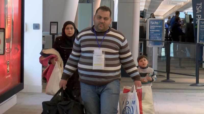 Syrians arrive KY