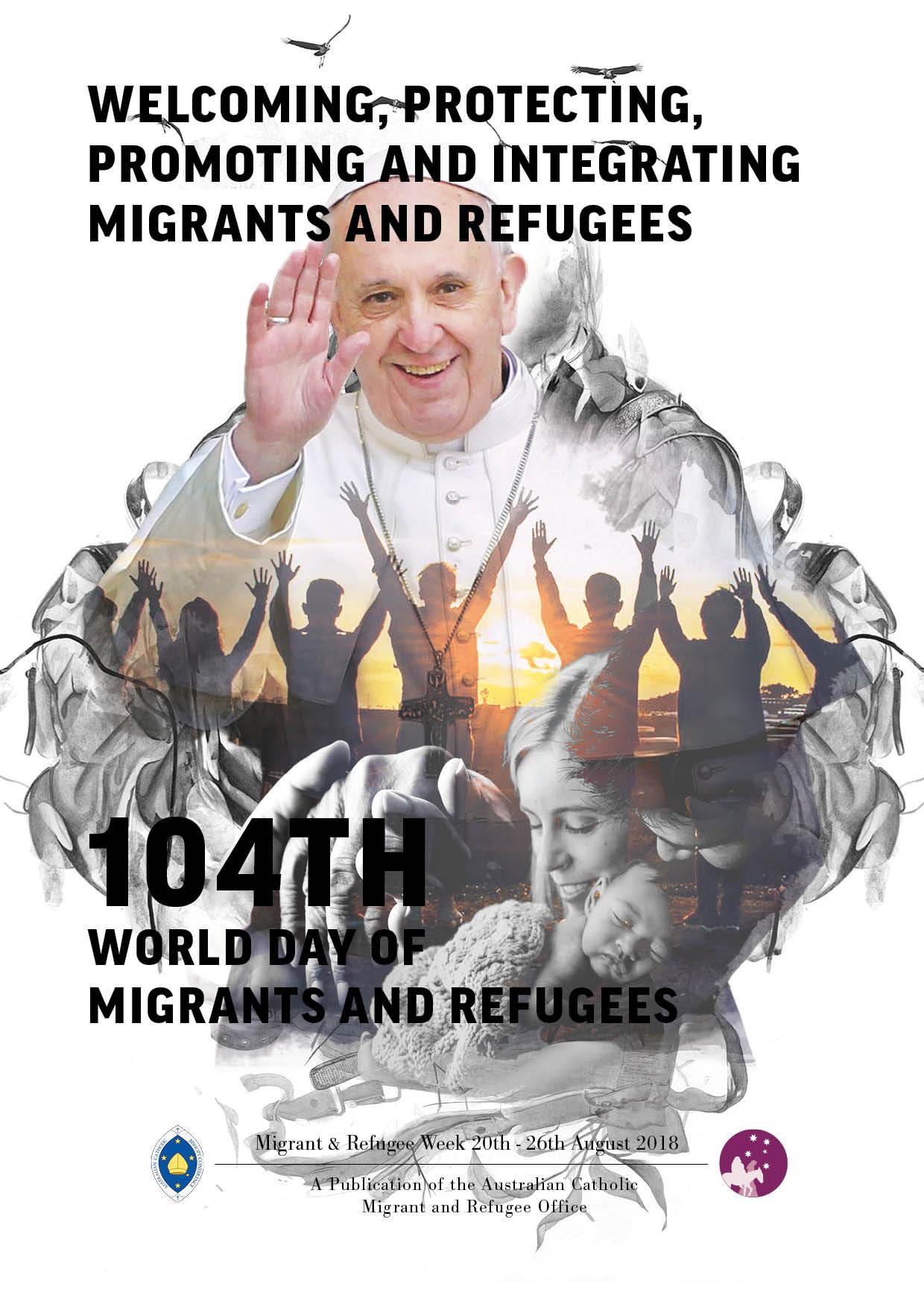 pope welcoming migrants