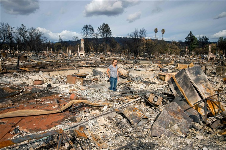 wildfire victims